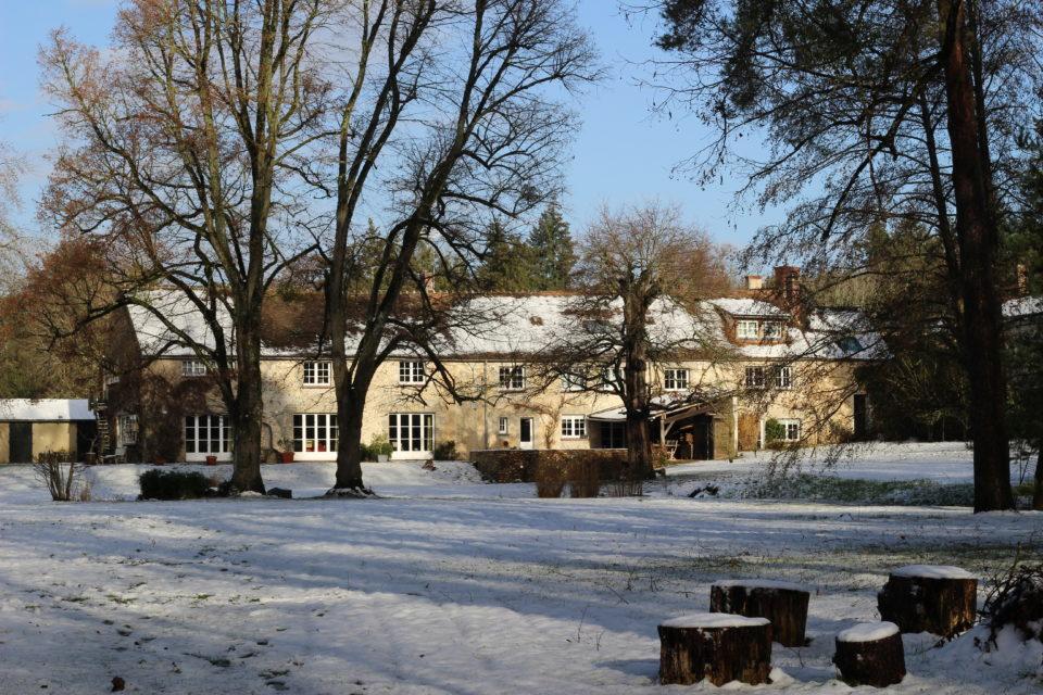 Moulin neige Yvelines