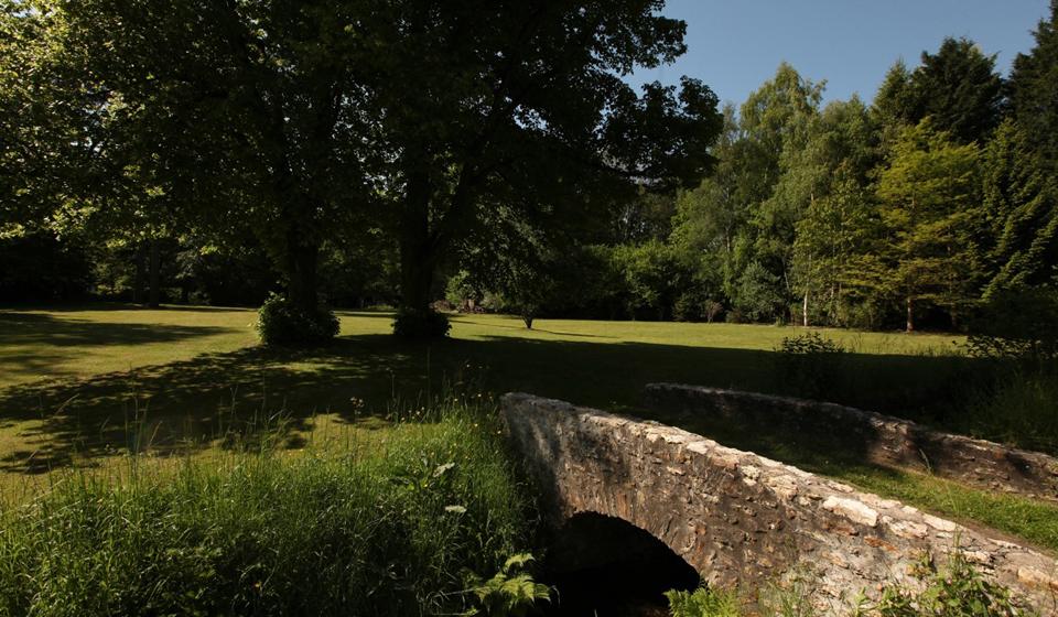 Jardin maison hôtes Moulin de Vigris