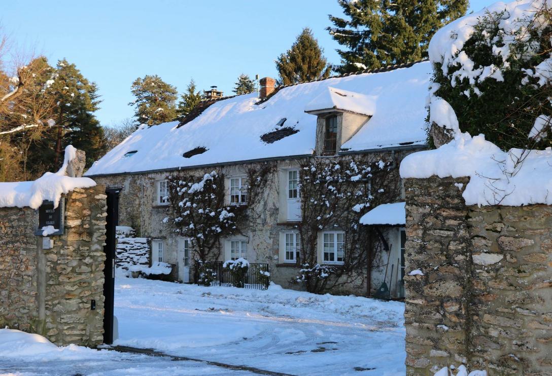neige Yvelines maison hôtes